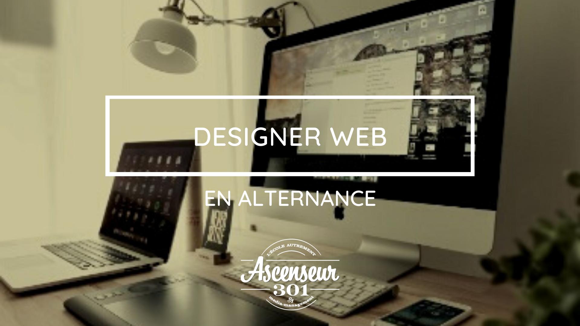 designer web en alternance oise