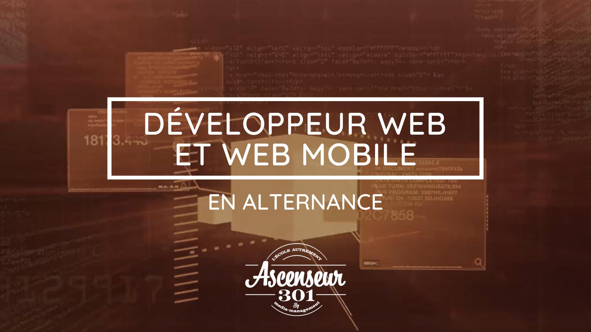 développeur web et web mobile