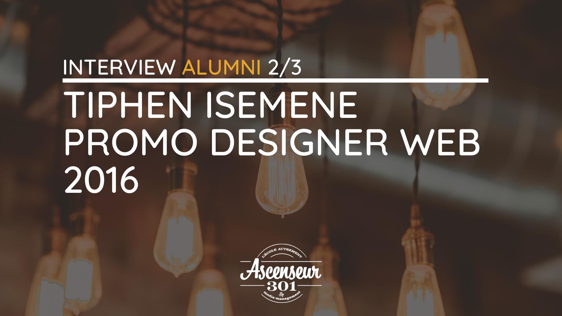 Tiphen interview web designer développeur