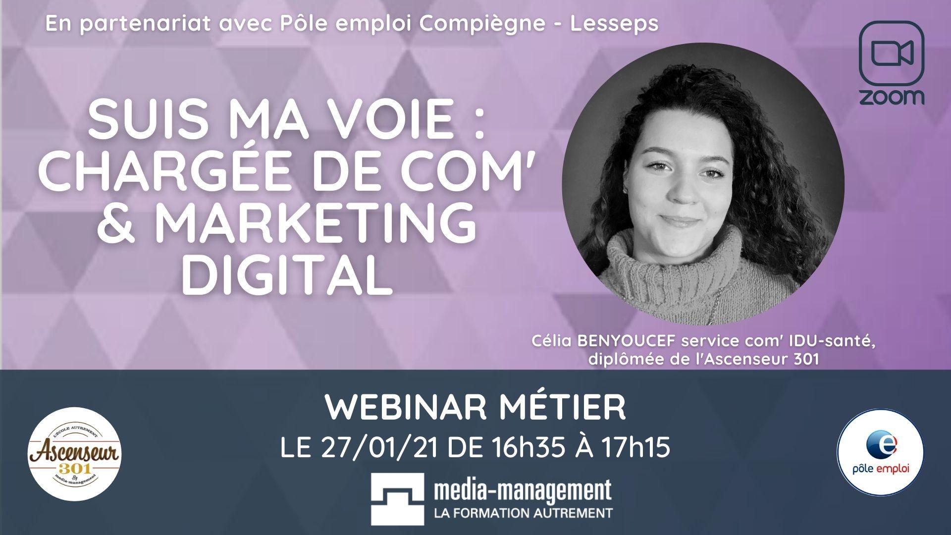 comment devenir responsable de communication et de marketing digital webinar